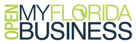 Open My Florida Business logo