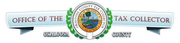Okaloosa County Business Tax Receipt logo